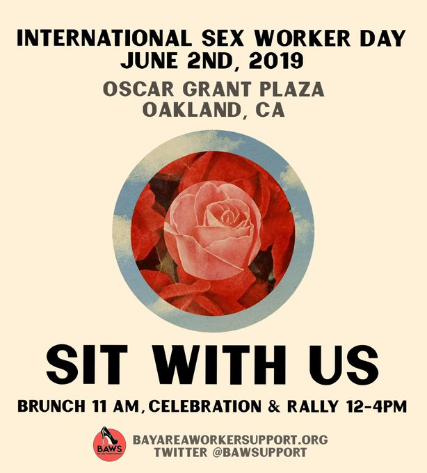 International Sex Worker Day @ Oscar Grant Plaza
