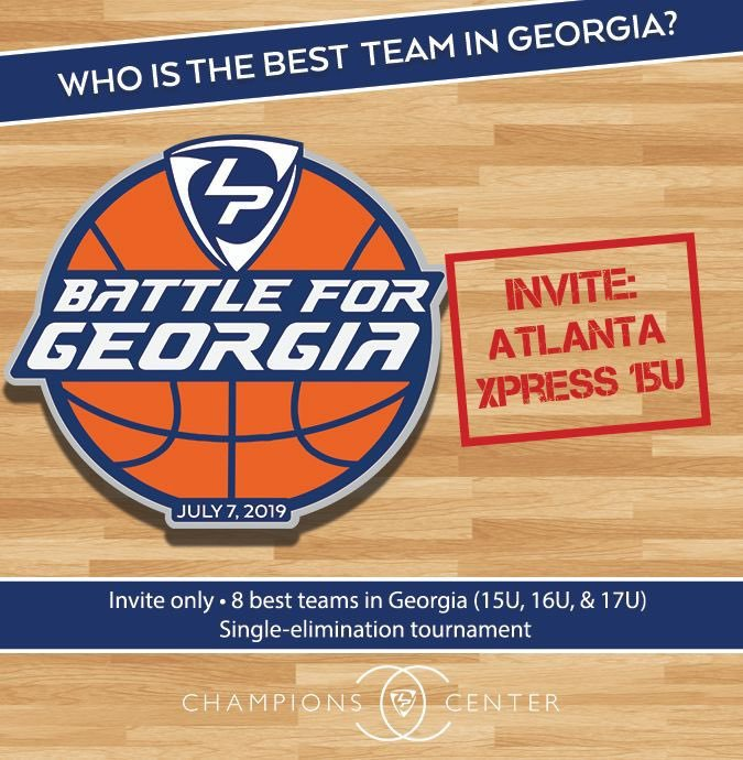 The @AtlXpress 15U came to the #LPTipOff and won the 15U championship. We invited them to #BattleForGeorgia Round 2, and they accepted! This group is led by @snejayy, a Class of 2022 wing with high-major offers already.