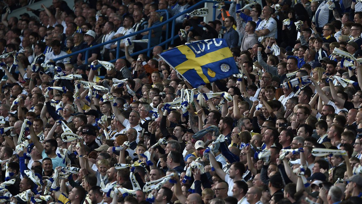 #LUFC fans, you have been amazing! Thank you for every minute of support. All Leeds Aren't We!