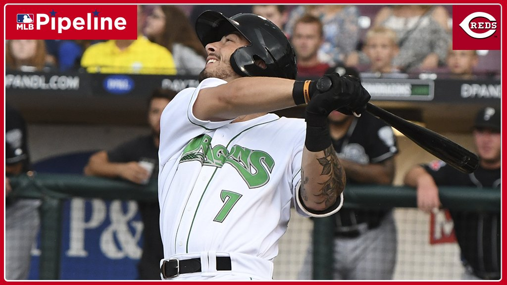 #Reds No. 4 prospect Jonathan India has been on fire for @daytonatortugas:Tonight: 2-for-3, 3B, RBI, 2 BBMay (13 games): .333/.455/.622Oh, and he's working on a 9-game hitting streak.Live stats for all the @Reds top prospects: https://atmlb.com/2v1QEfR