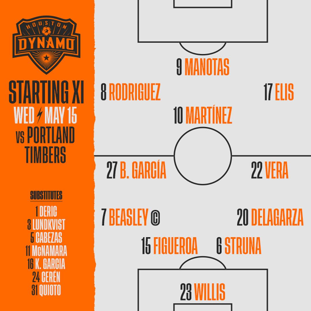 Here's how we line up for #HOUvPOR #ForeverOrange