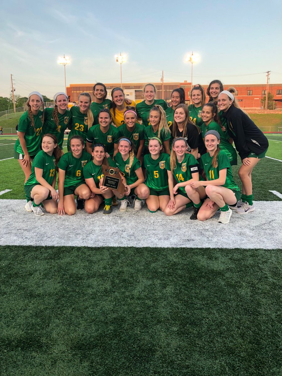 District Champions!! Kati Miller with the overtime winner