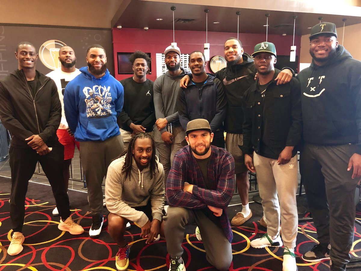 Just took the team to see #JohnWick3 before the release on May 17. Go see it @JohnWickMovie