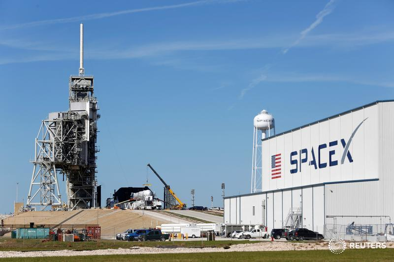 Elon Musk's SpaceX is due to launch 60 small satellites into low-Earth orbit as part of his company's plan to sell internet service beamed from space https://reut.rs/2Hyoo7U
