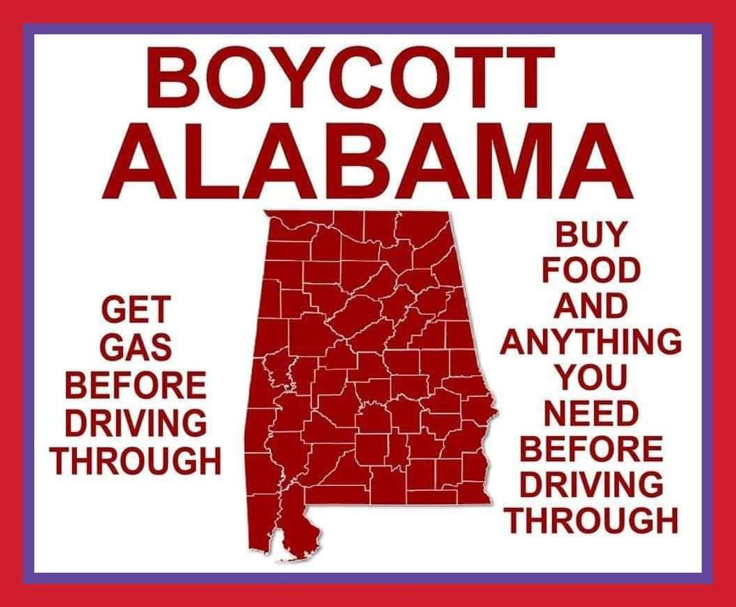 rootwoman123's photo on #BoycottAlabama
