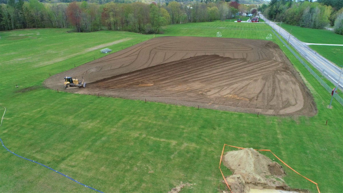Work begins on Taranovich Field in Proctor. Thank you Markowski Excavating and Mortimer Proctor Fund. Your generous donations made this work possible! #GRCSU @ProctorSchool @PHSPrincipal1 @LearnerBased #vted<br>http://pic.twitter.com/HKIbUm1R6p
