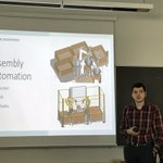 Image for the Tweet beginning: Assembly Automation project by Milan