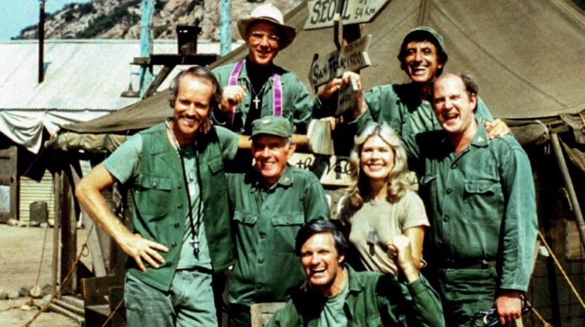 """80s"" SITCOM of the Day:  M*A*S*H (1972-1983)  Don't forget to Visit THE BIGGEST 1980s Website on the ENTIRE INTERNET! www.80sThen80sNow  #MASH #TV #Television #Sitcom #Army #Korea #War #UnitedStates #USA #US #America #Family #Friends #Heroes #Hero #Soldiers #Soldier #1980s #80s<br>http://pic.twitter.com/SVYJdkSuTQ"