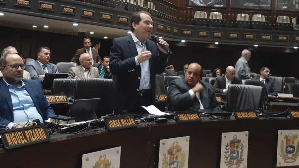 Oposición venezolana retoma actividades en el Parlamento http://bit.ly/2W5Iq2C