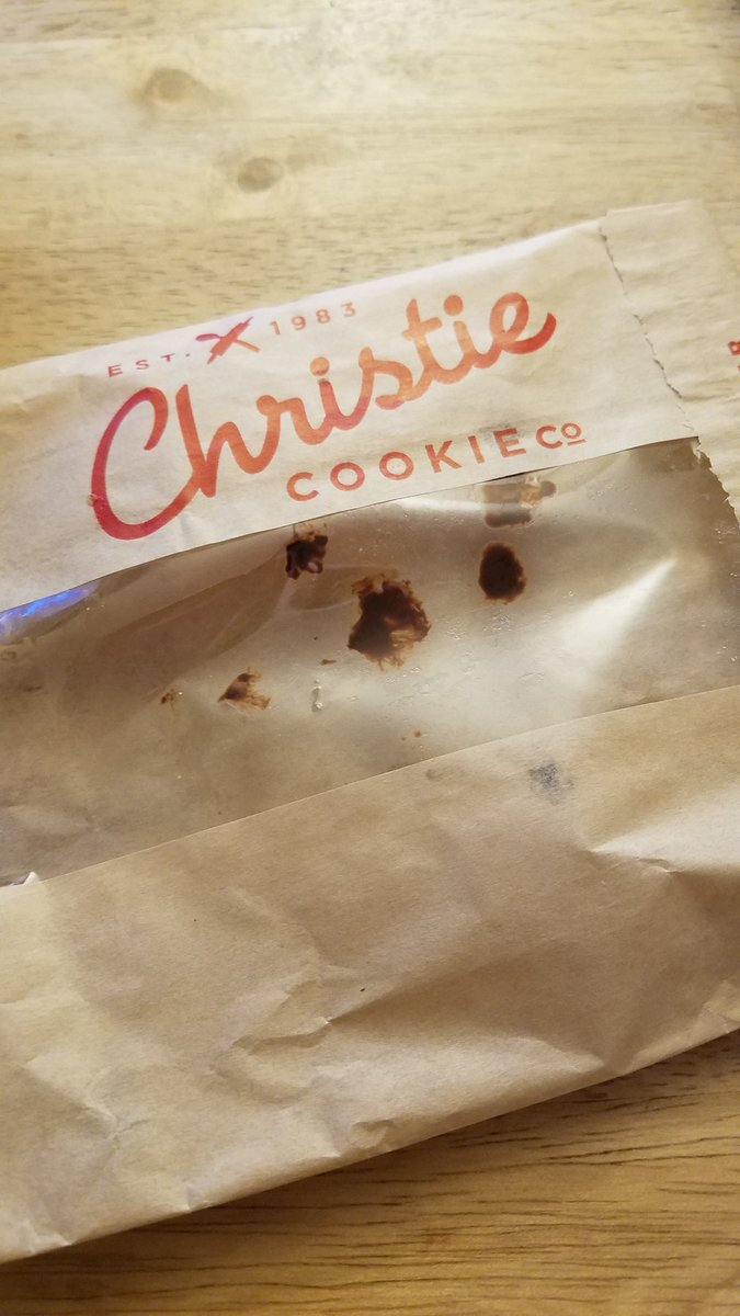 Happy #NationalChocolateChipDay Got my @christiecookie  Forgot to take a pic before I ate them.   <br>http://pic.twitter.com/P6ypmT0zdV