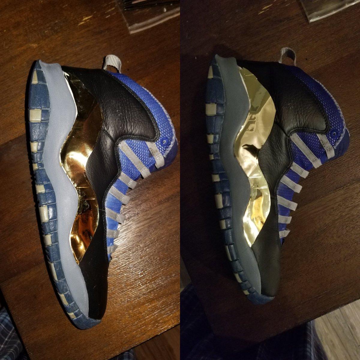 f99004b59939 ...  sneakerheads  kicksdaily  gold  thejourney  jordans  jordancustom  nike   jordan13  jordanx  restoration  tlc  beaterspic.twitter.com X67dvbRcaZ
