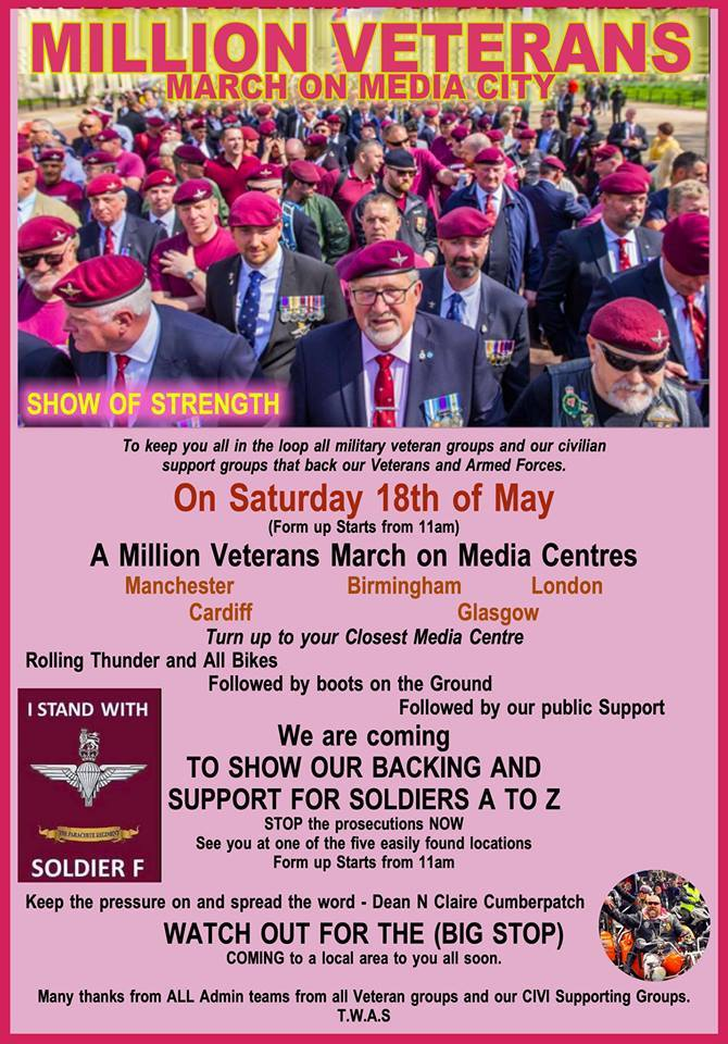 Justice for Northern Ireland Veterans Original (@Justice4NIvets) on Twitter photo 2019-05-16 04:33:27