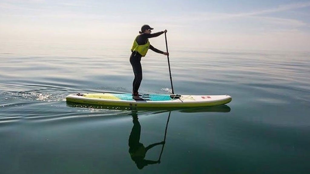 'The water literally washes the anxiety away' Meet the people who use the ocean and the concept of 'Blue Mind' to help improve their #MentalHealth Read http://bbc.in/2PBIlNH #GetInspired #WaterWellbeing @InspireSirens