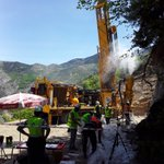 Salinbas Gold Project drilling well underway - 220m achieved in the first day! #AAU #gold #HotGoldCorridor https://t.co/M9JJauX1CK