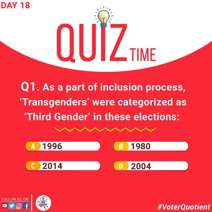 #voterquotient Photo