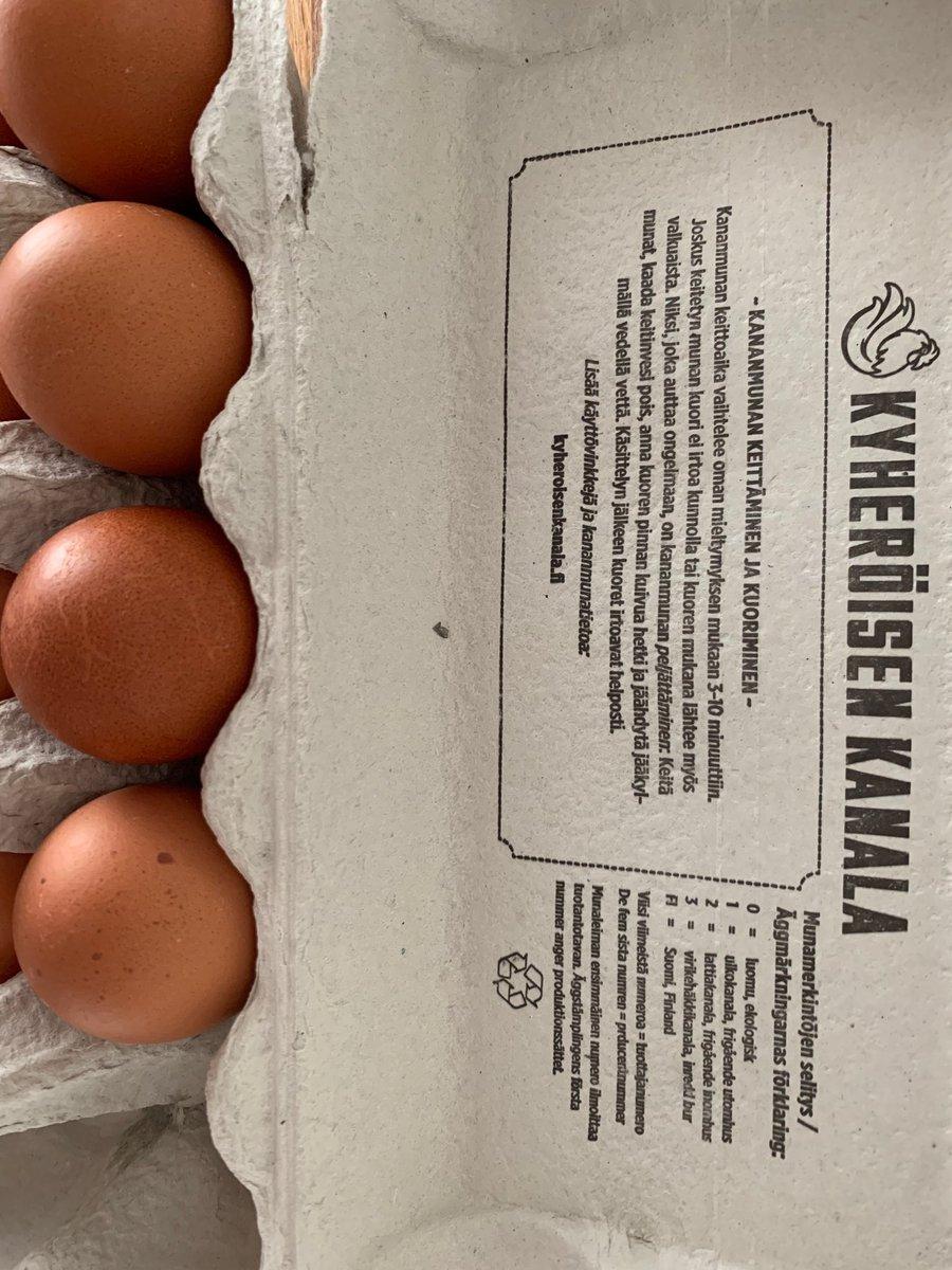 Kananmunan keittäminen aika