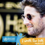 I am happy to be joining the @WHO Walk the Talk #HealthforAll Challenge this Sunday in Geneva. Come join me and many others in this celebration of healthy lifestyleshttps://t.co/NaEPXKjiZI