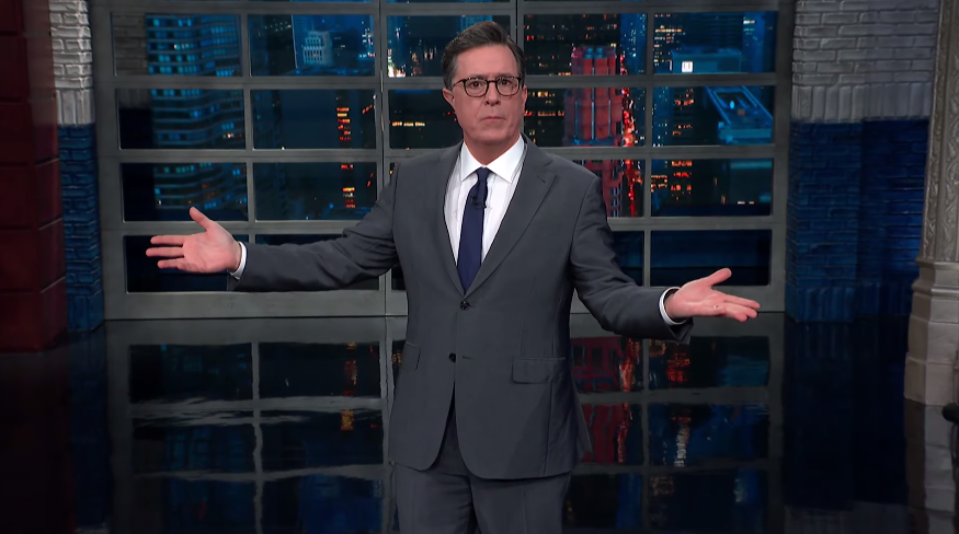 Stephen Colbert invokes 'The Handmaid's Tale' in slamming Alabama's abortion banhttps://trib.al/f6nxUYN