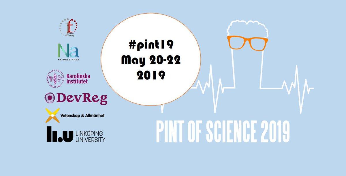 Den 20-22 maj bjuds allmänheten in till att lyssna på aktuell forskning från sex LiU-forskare under vetenskapsfestivalen Pint of Science. Bland annat får du veta mer om elektroniska växter, utmaningarna med autonom körning samt om tinnitus. http://www.pintofscience.se/?fbclid=IwAR1UcVU_u3NMpTwaPZBjnXDIYgPd0CzYj6NruEFZl8tOsDx97AOE2A7wL-g…