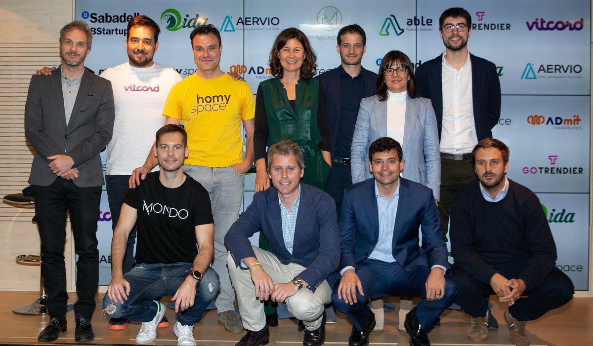 .@BStartup, de @BancSabadell, assoleix els 200 milions d'euros en crèdits a startups i presenta les seves deu noves inversions en el #DemoDay de #BStartup10 http://prensa.bancsabadell.com/ca/Noticies/2019/05/bstartup-assoleix-els-200-milions-deuros-en-credits-a-startups-i-presenta-les-seves-deu-noves-inversions…