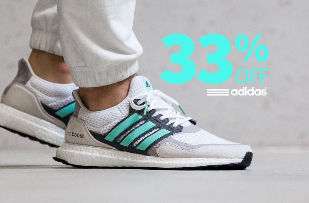 7a3c575a324748 ... off at adidas UK  Code is ADI33 All trainers included in the offer  shown here   https   bit.ly 2Yysp30 ALL sale items included    https   bit.ly 2Jo7agN ...