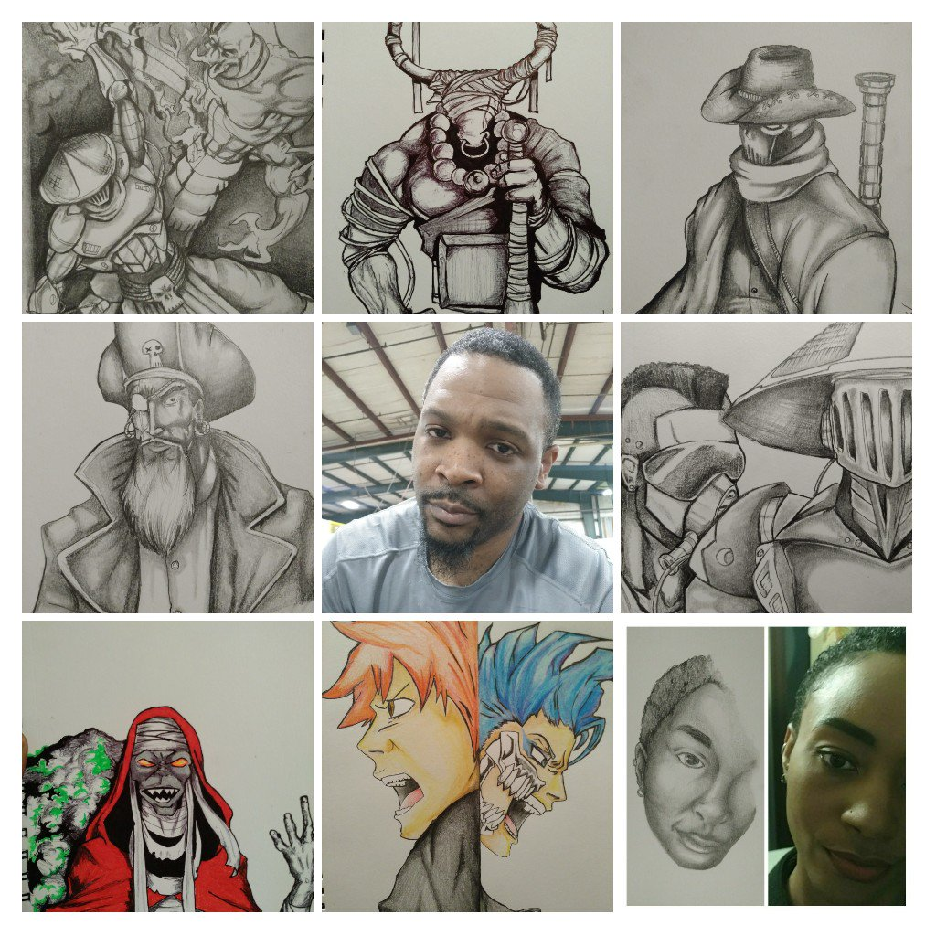 What inspires me @xppenusa ? Lower right corner is my inspiration, my wife. She has always pushed me to get back into my art and everything I&#39;ve done here on Twitter came from that push. Plus she is just my awesome shining star #inspirationxpen<br>http://pic.twitter.com/kL4NuAqSrX