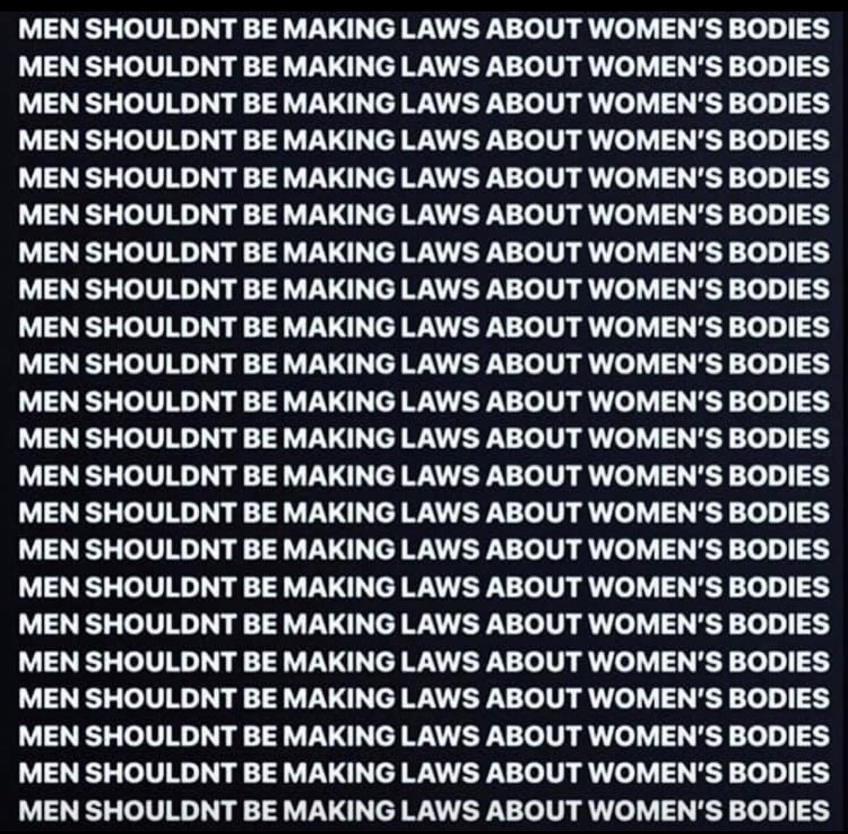 #YouKnowMe I'm a male, a father of two daughters, a brother to three sisters and my mother's son. My opinion doesn't matter, nor should it! But the #AlabamaAbortionBill is hideous and abhorrent!<br>http://pic.twitter.com/ySIpsTTqH4