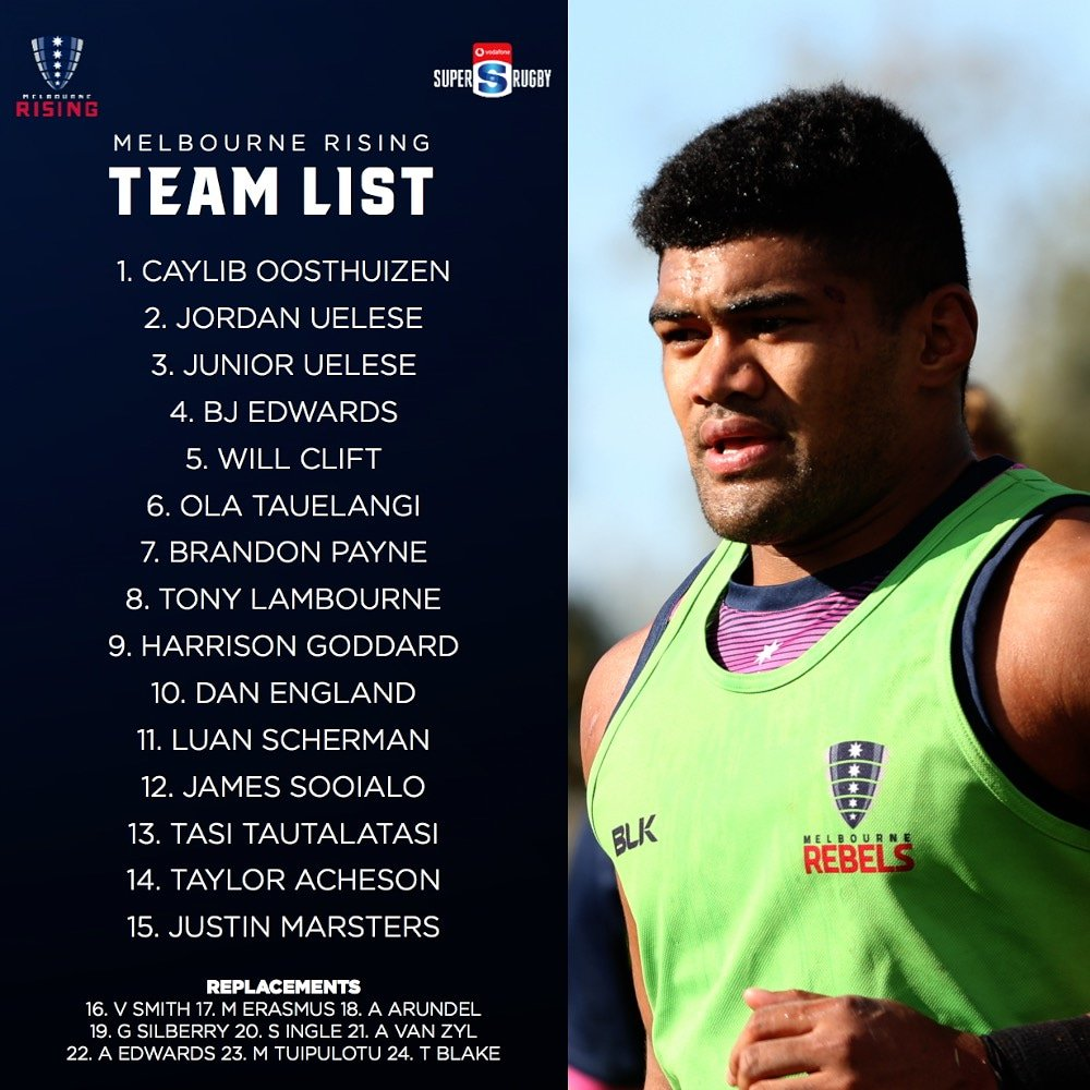 acb8c02a6 Here is your Rising team to tackle Japan A tomorrow night in the curtain  raiser at AAMI Park. Gates open from 5pm