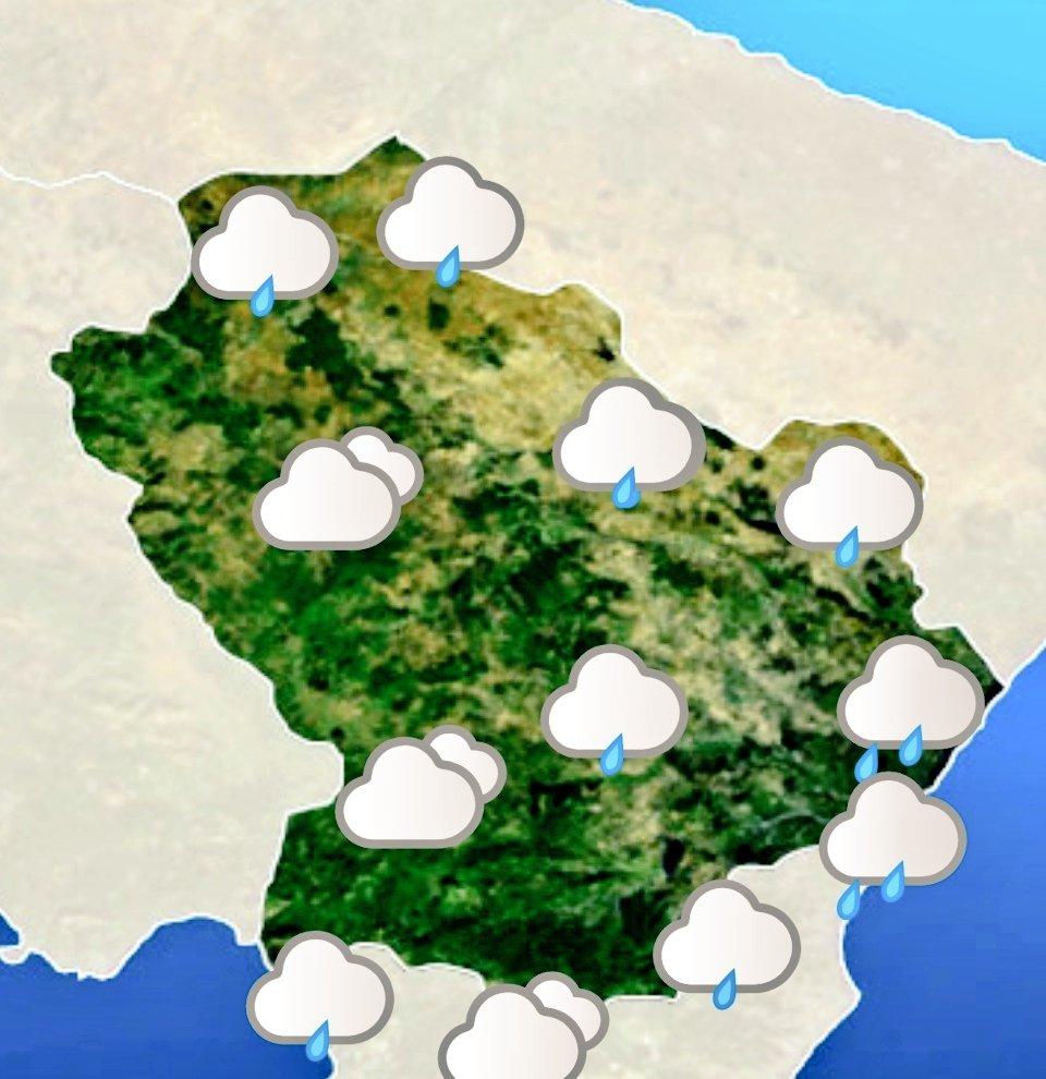 Le previsioni meteo #Basilicata di oggi 16 maggio ...
