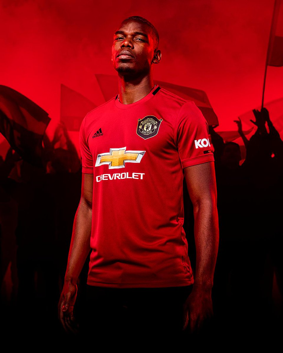 Inilah Jersey Manchester United musim 2019-2020, bagus? Yay or nay? (📷: @brfootball)   #MUFC