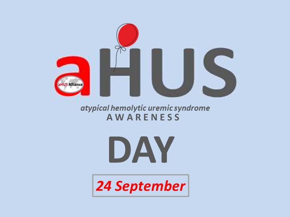 aHUS Awareness Day (@aHUS24Sept) | Twitter