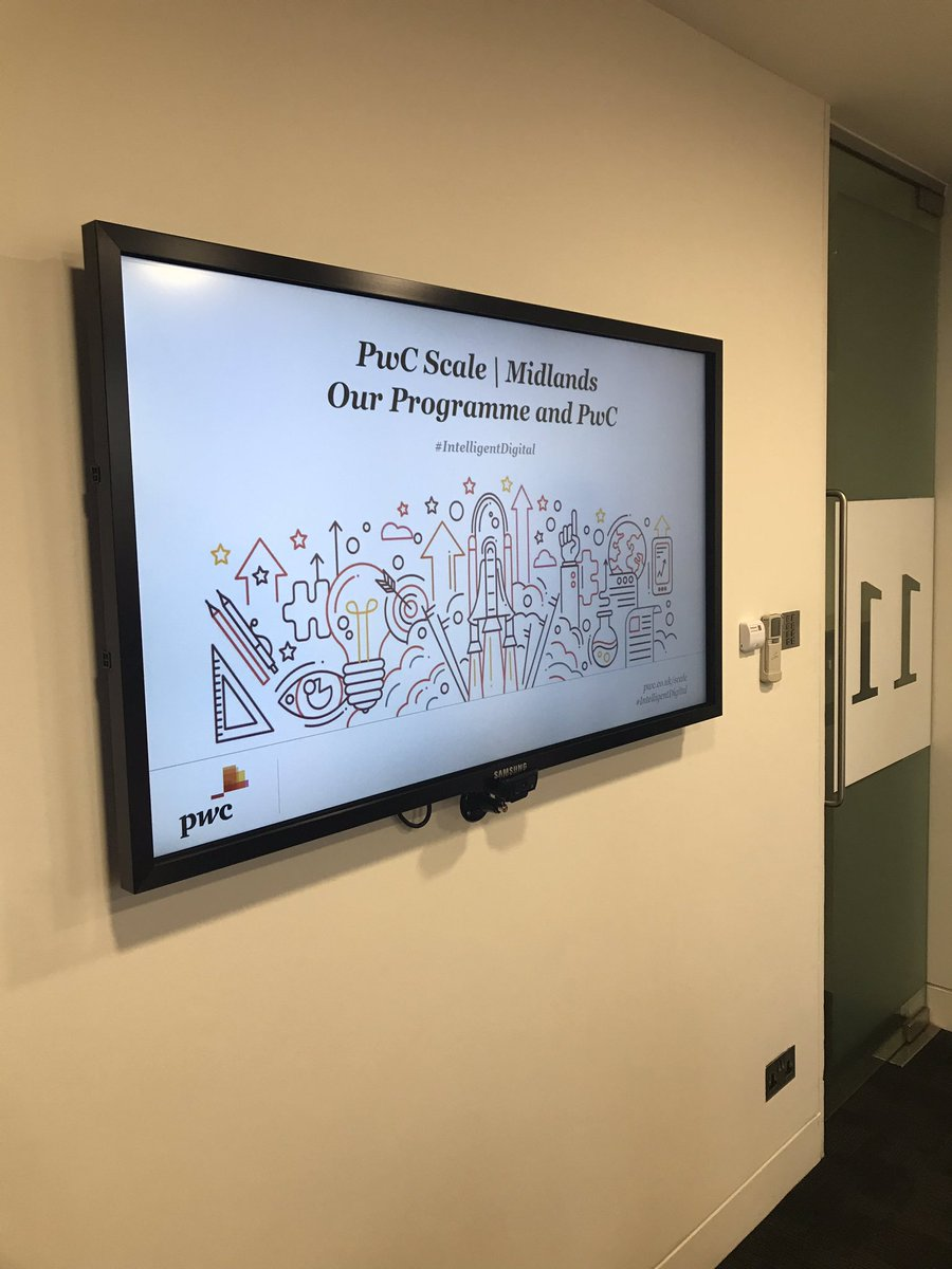 test Twitter Media - A year ago we were selected to join  @PwC_Midlands Scale programme. It's fantastic to be asked to come back today to deliver a group masterclass on entrepreneurial mindset to the 2019 cohort. Thank you. #BeMoreLobster https://t.co/09xSuEpMX1
