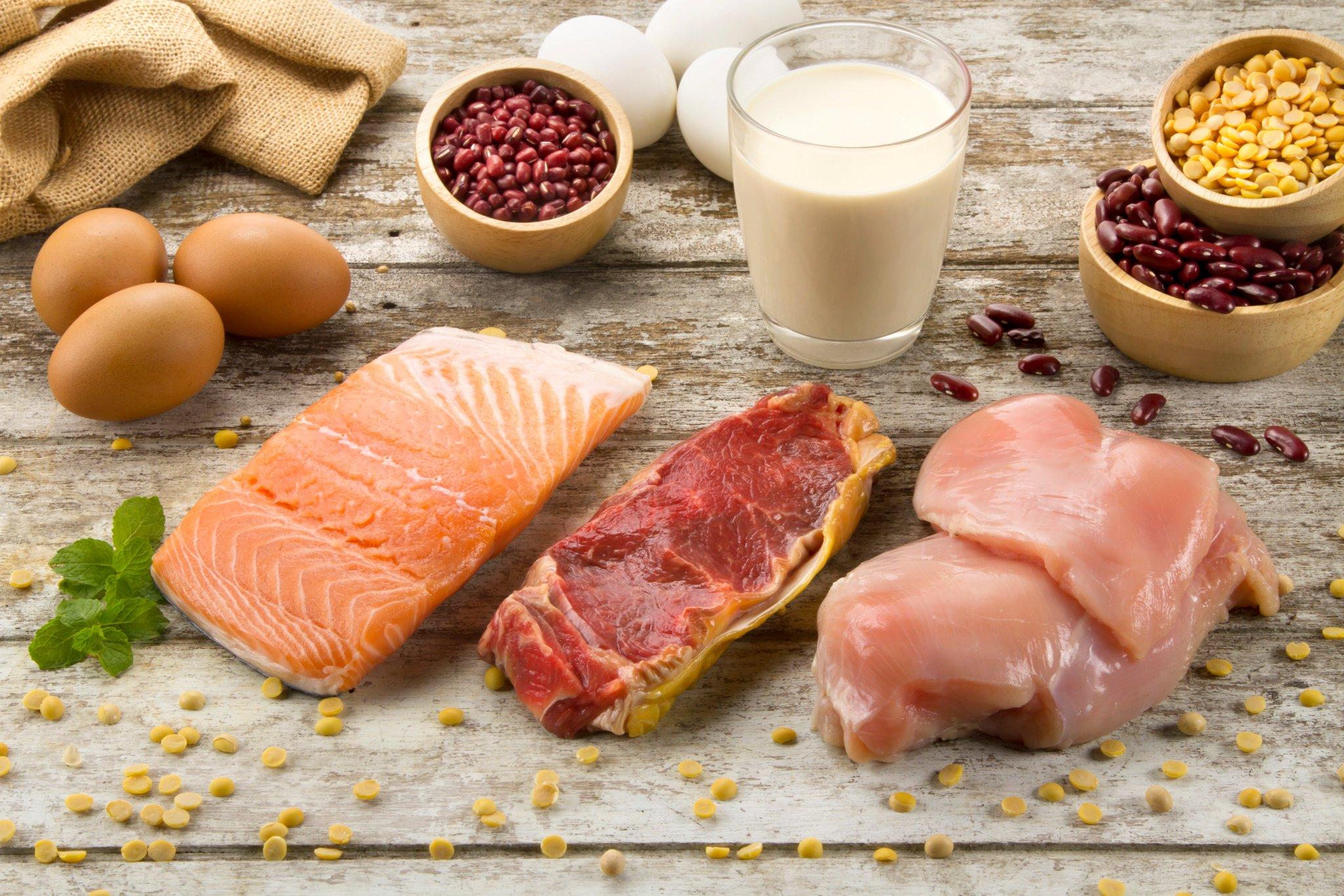 Растительные диеты и белковые