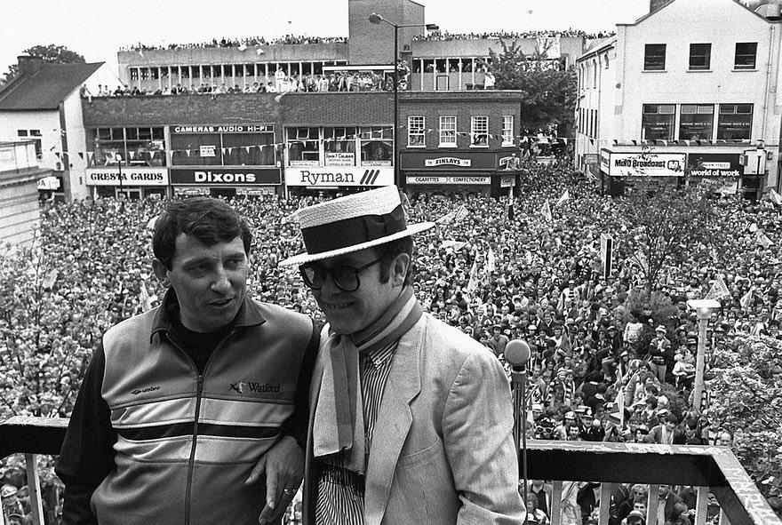 One of my favourite images from 35 years ago. Great to have reason to be using it again this week #watfordfc #FACupFinal