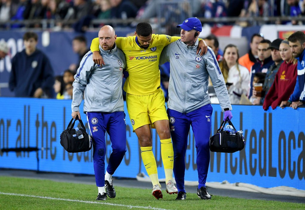 A big concern?Ruben Loftus-Cheek could miss the Europa League final after being injured in a friendly.More: https://bbc.in/2EbGmvL #CFC