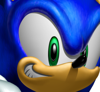 Sonic's shit eating grin is fitting in this situation