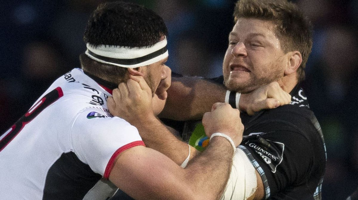 Departing heroes, a Celtic Park showpiece and a returning coach - the story of Glasgow's Pro14 semi-final showdown against Ulster.https://bbc.in/2HnkShH