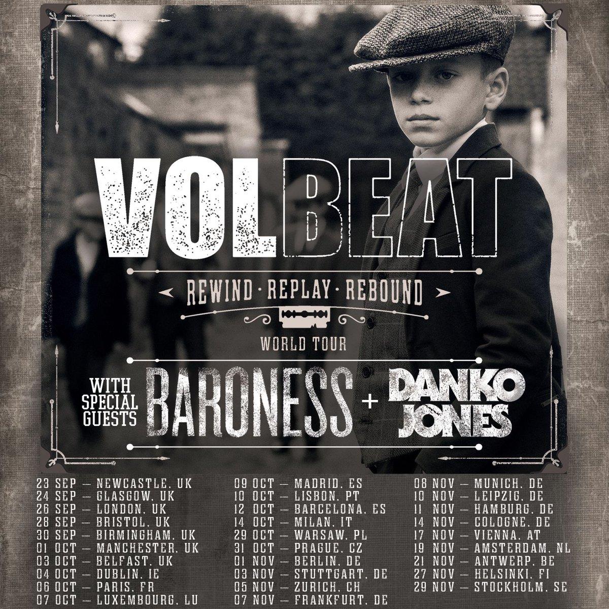 Volbeat Us Tour 2020 Volbeat on Twitter: