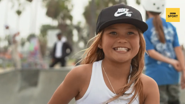 Britain's youngest ever summer Olympian?Ten-year-old skateboarding champion Sky Brown is aiming for Tokyo 2020.🎥 Watch: https://bbc.in/2w7AUFL#ChangeTheGame