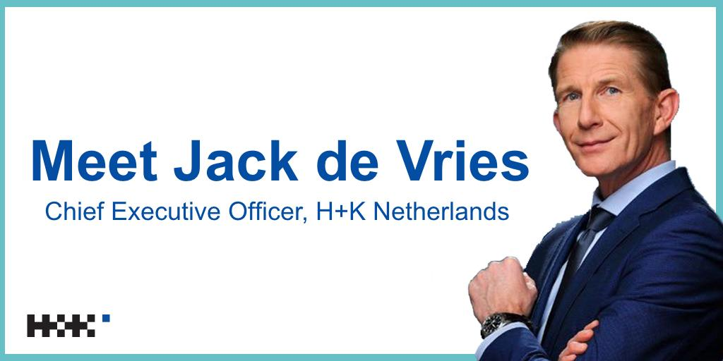 We are so pleased to confirm that @JackDeVries has become CEO of H+K Netherlands! Jack has been with H+K since 2011 as a Board Director and leader of the public affairs practice in our Dutch operations. Check out our website for more details! #HKfamily https://t.co/S9kvdfvoMy https://t.co/SrYqWaYRYm