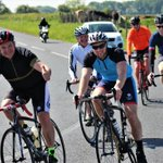 Huge thanks to everyone who took part in the Carefoot Sportive yesterday Cycling 60 miles around the Wyre Coast and Bowland Fells. Great day had by all and we raised over £1000 for @TheBrickWigan charity in the process.