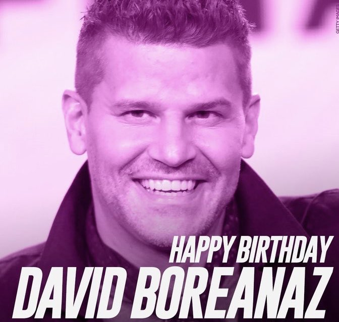 Happy Birthday to David Boreanaz. It s the big 50.