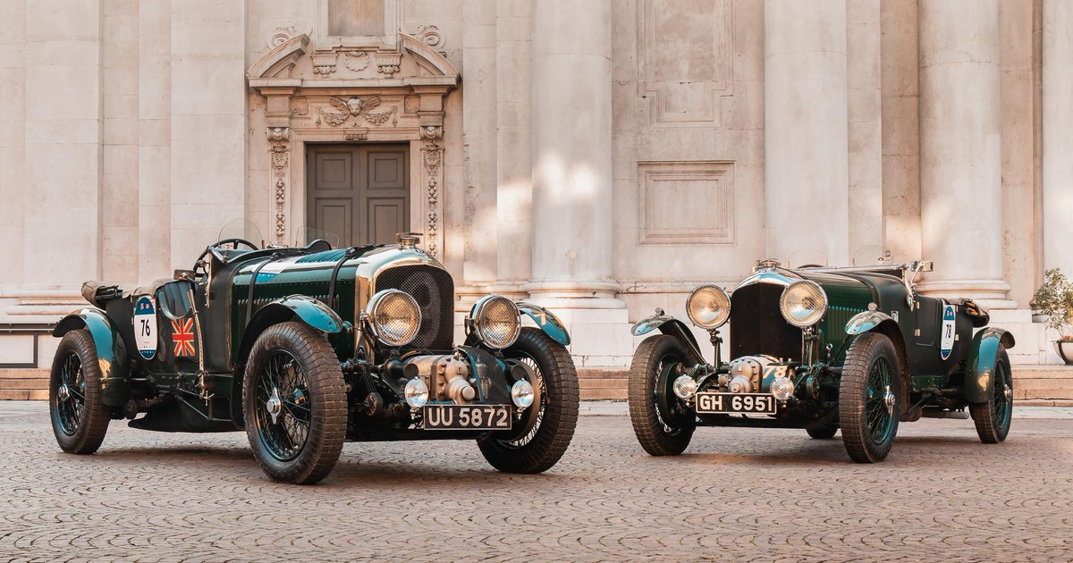 Two original 1930 4 1/2-litre supercharged #Bentley Blowers are currently competing in the @millemiglialive #1000Miglia2019 Regularity Race. Discover #Bentley100Years: http://bit.ly/2Hkf5JA