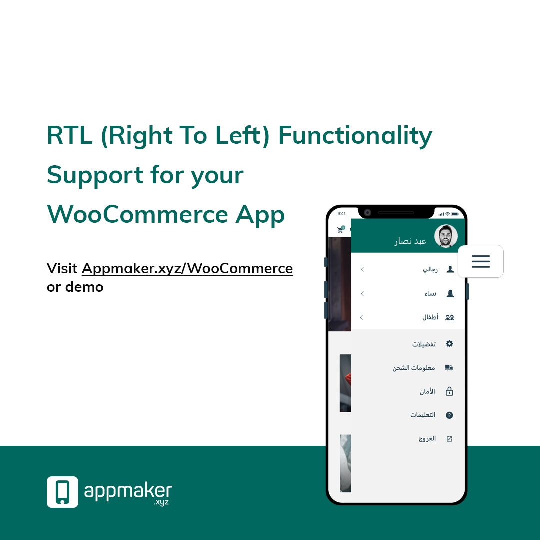 Expand to global markets with RTL functionality. Be it Middle East, Saudi or any other country, We have the language integration right at fingertips! #WooCommerceApp #WooCommerce #WordPress #Themes #Plugins #WPML #Polylang #Multilanguage<br>http://pic.twitter.com/zdjfFeU6Jr