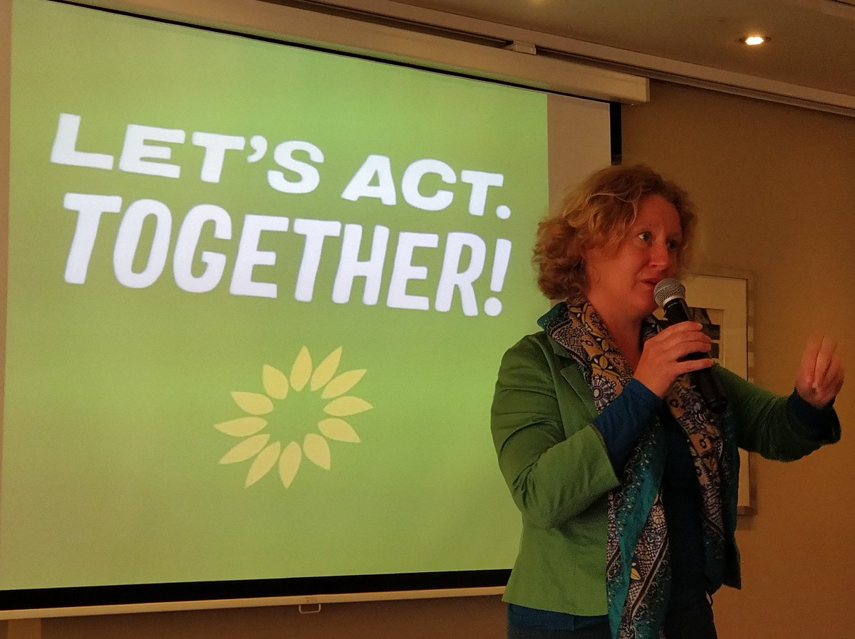 @judithineuropa shedding a light on the role of the #EuropeanElections2019 for the #transparency and #taxjustice in #Riga at the changemakers meeting of the @europeangreens