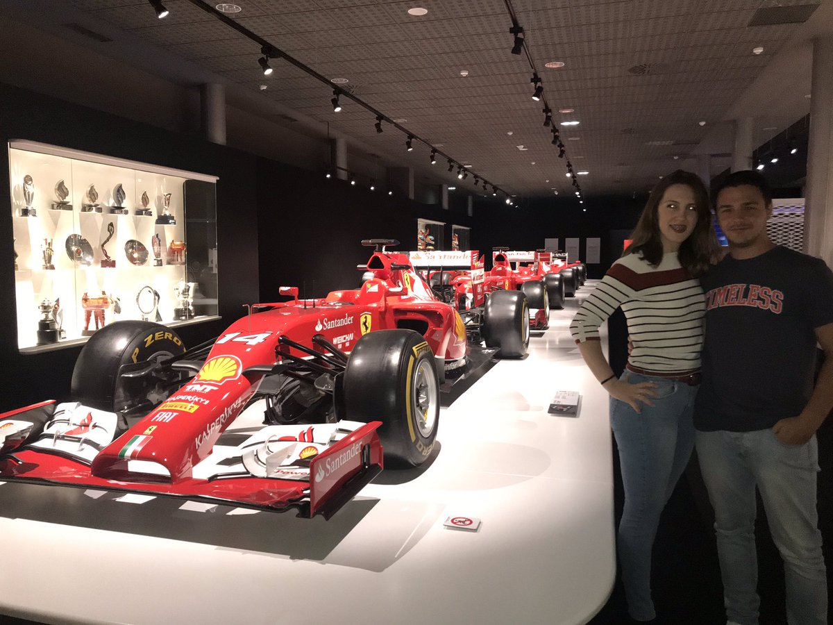 De Murcia a Oviedo solo para ver el @CircuitoMuseoFA y no ha decepcionado, sueño cumplido, pedazo de museo, increíble experiencia, gracias por todo @alo_oficial ♥️