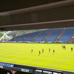 Rugby training at John Smith's Stadium @Giantsrl    @TheRFL @Rugby_Trade @johnsmithstadia #rugby #football #Networking