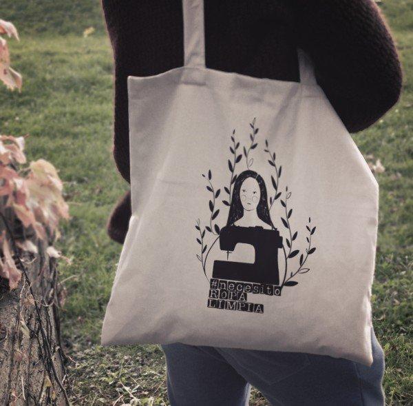 ¡Actúa frente a la esclavitud del sector textil YA! Apoya al #crowdfunding de @CRLSETEM y llévate esta maravillosa bolsa de tela de #ComercioJusto hecha con algodón ecológico y el Kit de Activista ‼ Sé parte de los logros 👉 https://goteo.cc/necesitoropalimpia…  #NecesitoRopaLimpia