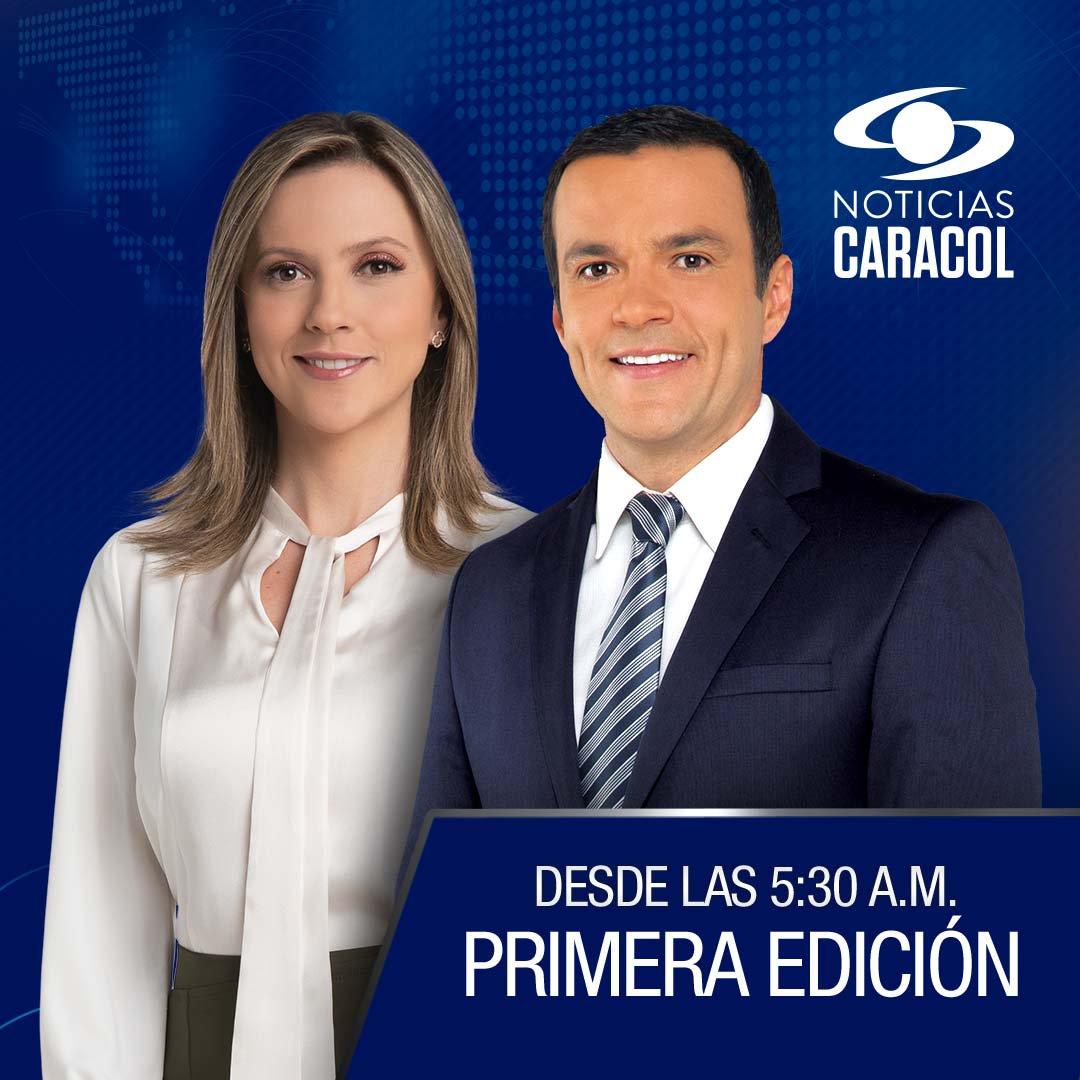 ¡Bienvenidos a nuestra #PrimeraEdición! Conéctese ya, desde cualquier dispositivo, con @CatalinaGomezS y @JuanDiegoAlvira >>> http://Noticiascaracol.com