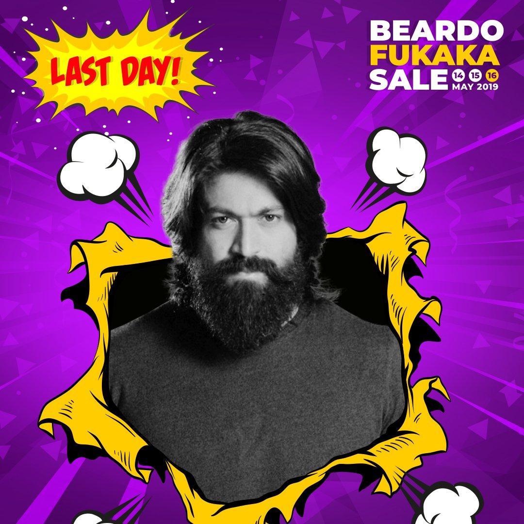 Don't miss out on the Beardo Fukaka Sale 👉🏻 http://bit.ly/2VuTbqW  #Fukaka